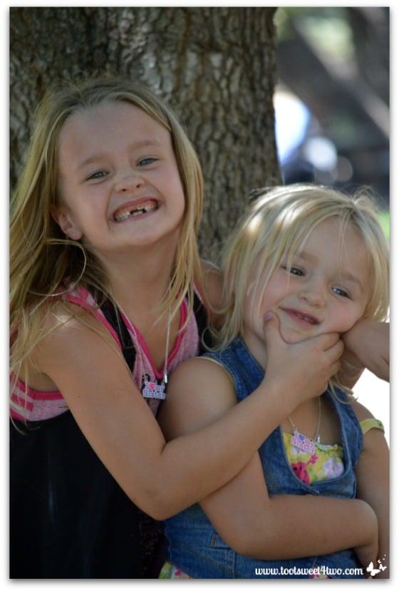 Strike a Pose - Princess P and Princess Sweetie Pie - Pic 7 - Old Poway Park