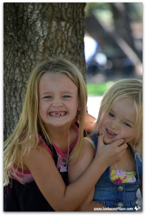 Strike a Pose - Princess P and Princess Sweetie Pie - Pic 8 - Old Poway Park