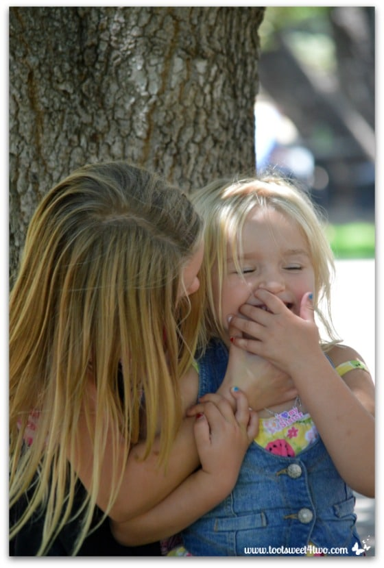 Strike a Pose - Princess P and Princess Sweetie Pie - Pic 9 - Old Poway Park