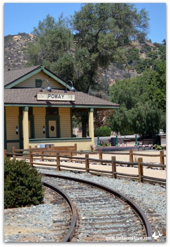 Strike a Pose - train depot 2 - Old Poway Park