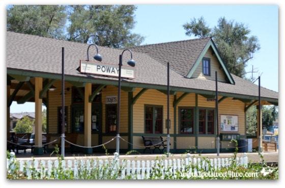 Strike a Pose - train depot - Old Poway Park