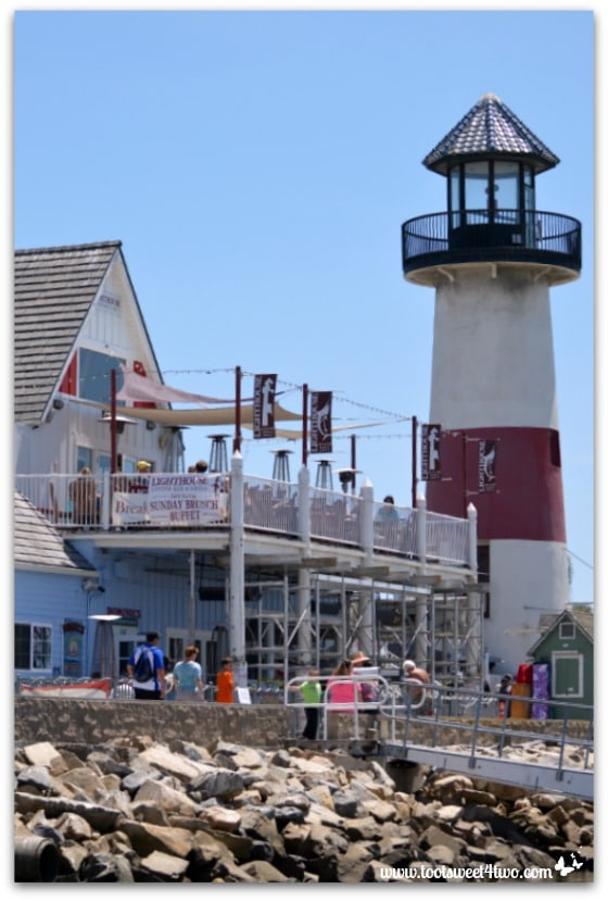 The Lighthouse and restaurant - Oceanside Harbor