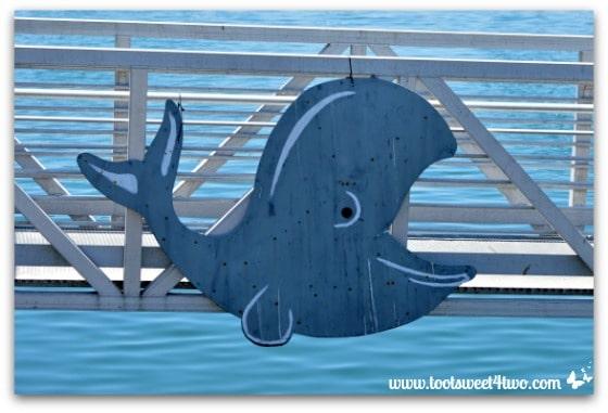 Whale sign - Oceanside Harbor