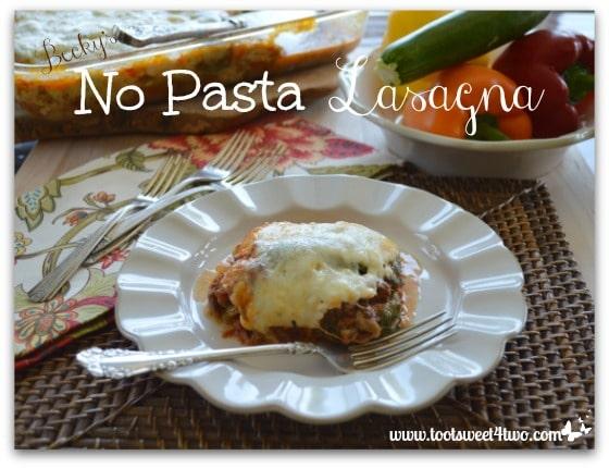 Becky's No Pasta Lasagna - Pic 2