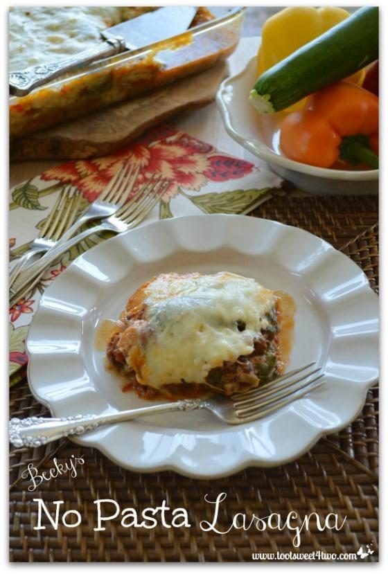 Becky's No Pasta Lasagna - Pic 3
