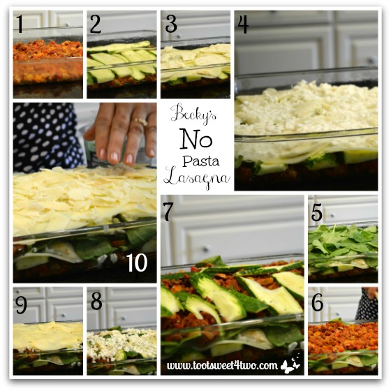 Becky's No Pasta Lasagna tutorial