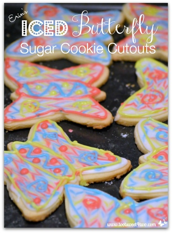 Butterfly cookies - Erin's Iced Sugar Cookie Cutouts