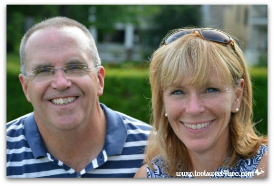 Glenn and Missy at Chautauqua New York State of Mind
