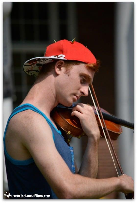 Music man at Chautauqua Institution