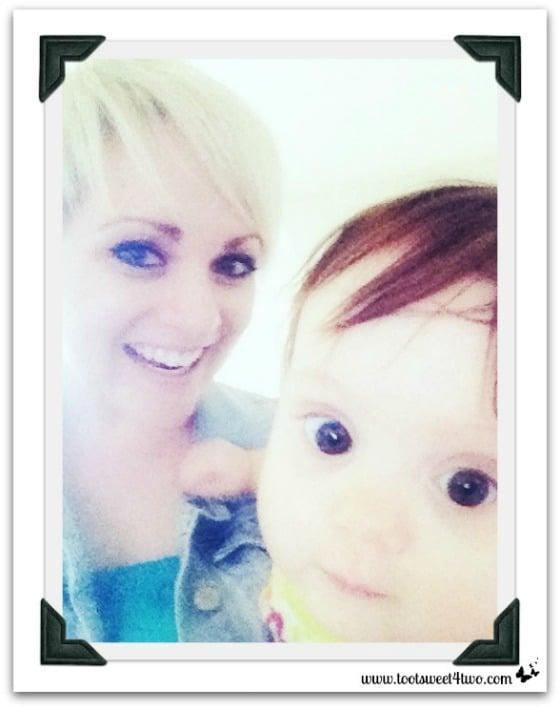 Nicole and Princess Sweet Cheeks - 42 Things in Your Baby's Nursery