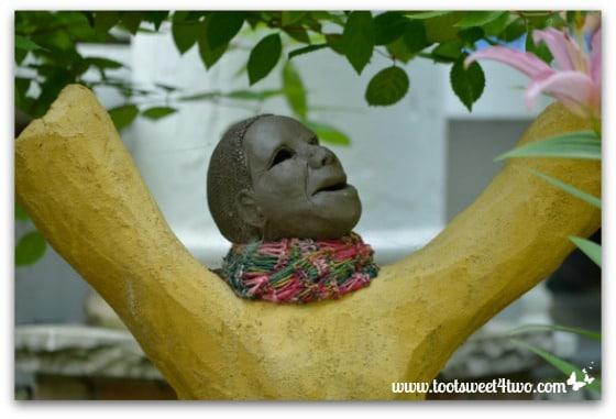 Quirky sculpture at Chautauqua Institution
