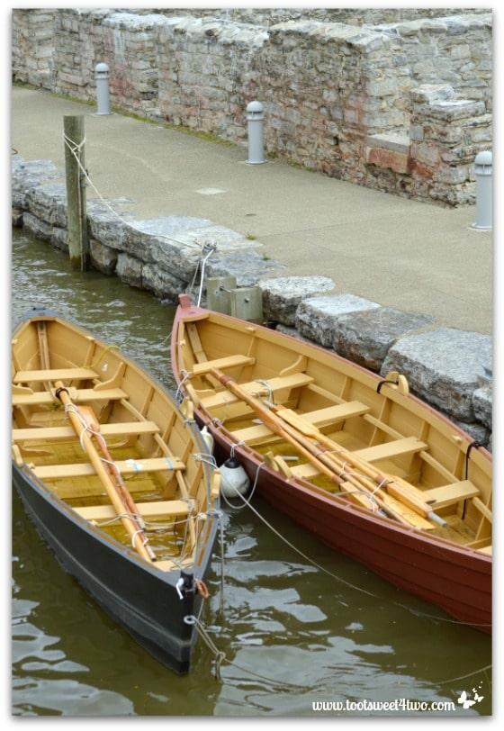 Rowboats at Canalside