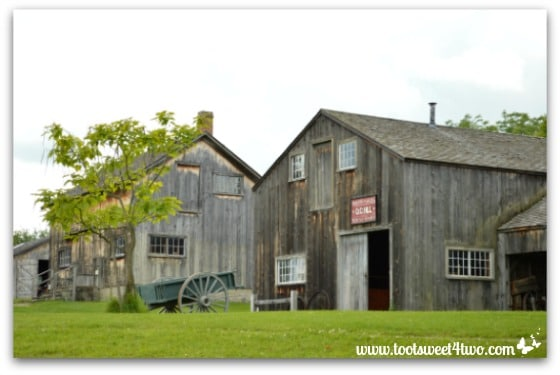 Wagonmaker Wheelwright Shop at Genesee Country Village