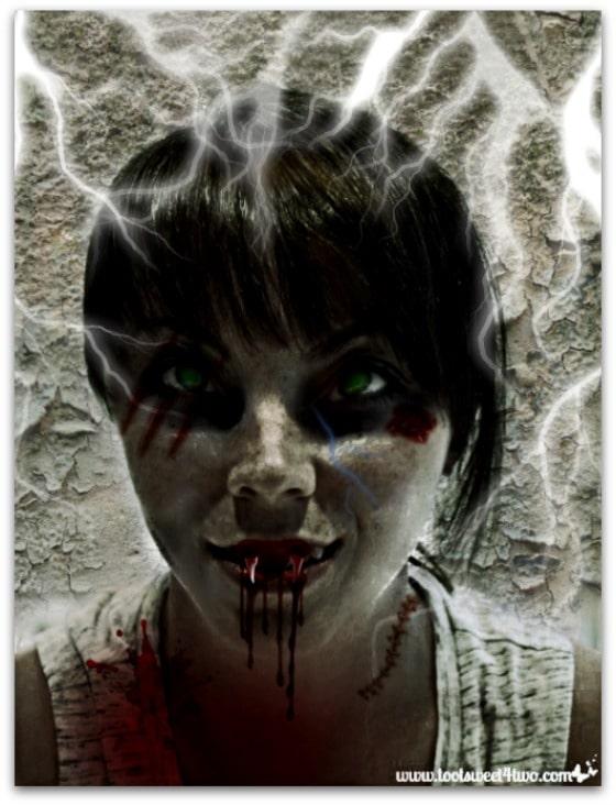 Erin Zombie Dracula - Zombie Apocalypse