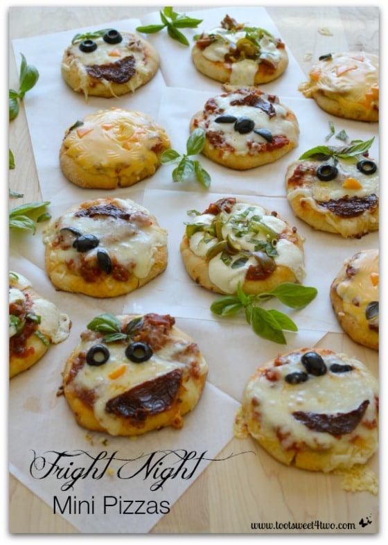 Fright Night Mini Pizzas Pic 1