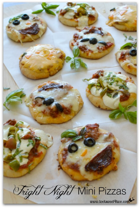 Fright Night Mini Pizzas Pic 2