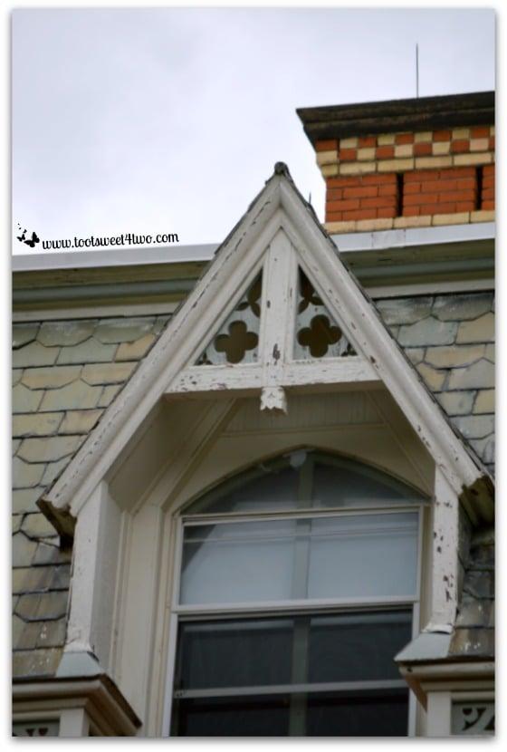 Gothic window at Hogwarts on the Lake