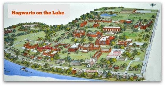 Hogwarts on the Lake Map