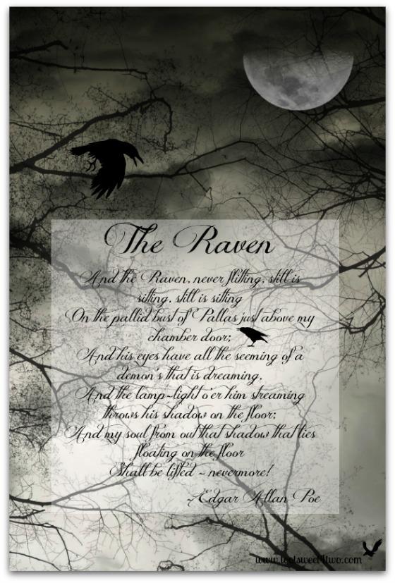 Last stanza of Edgar Allan Poe's The Raven