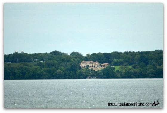 Mansion across the lake - Hogwarts on the Lake