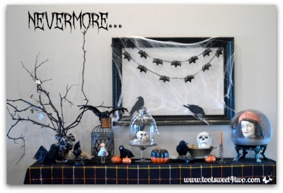 Nevermore Decorating for Halloween Pic 1