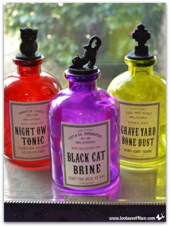 Pic 13 Halloween Magic Potion Bottles