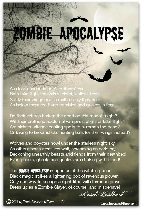 Zombie Apocalypse poem