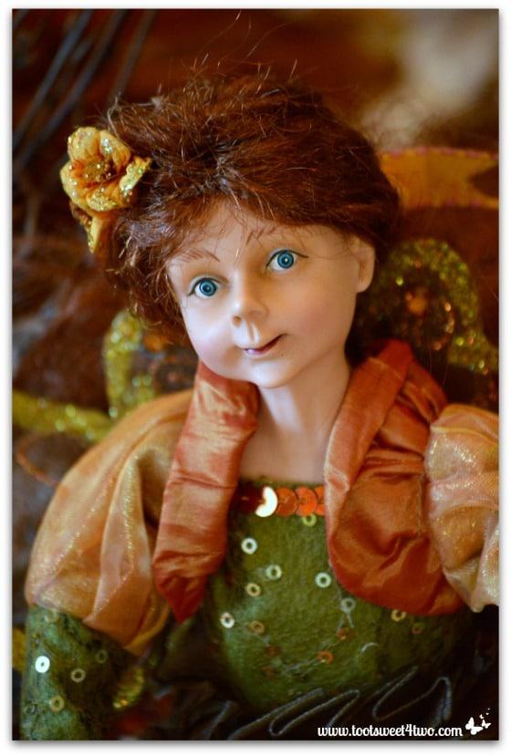 Auburn haired fairy