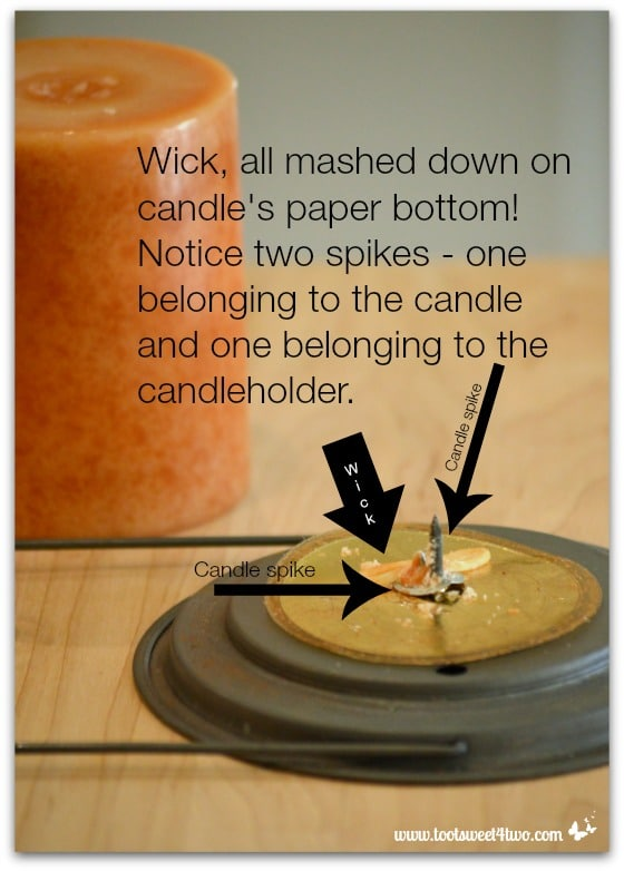 How to Replace a Wick in a Pillar Candle Pic 2