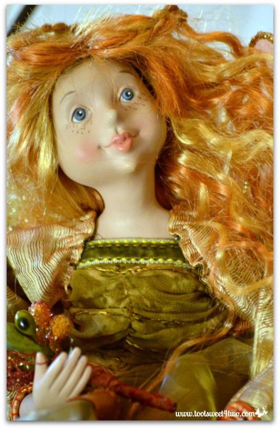 Wild hair red-headed fairy