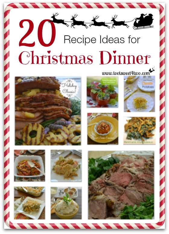 20 recipe ideas for christmas dinner toot sweet 4 two 20 recipe ideas for christmas dinner cover forumfinder Images