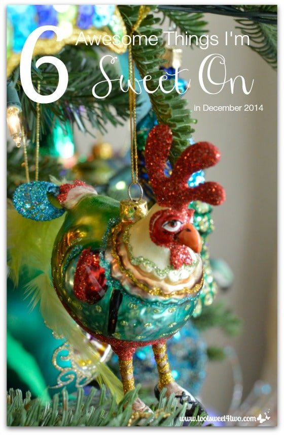 6 Awesome Things I'm Sweet On in December 2014 cover