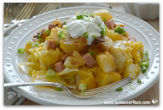 Cheesy Country Potatoes with Ham Pic 4