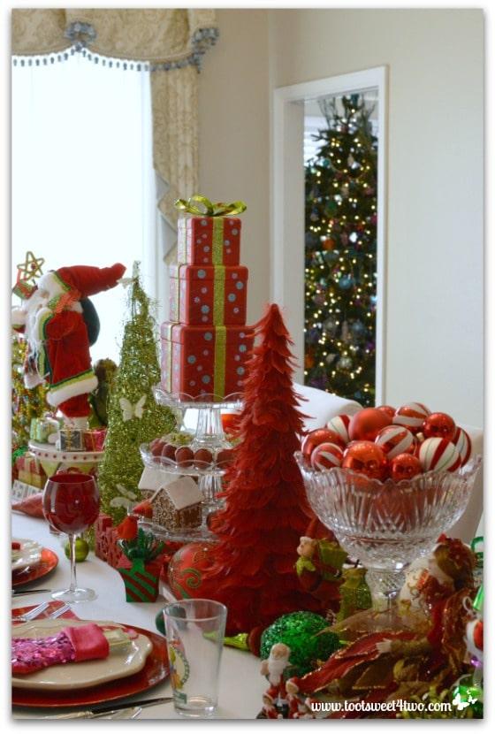Christmas Table and Christmas Tree