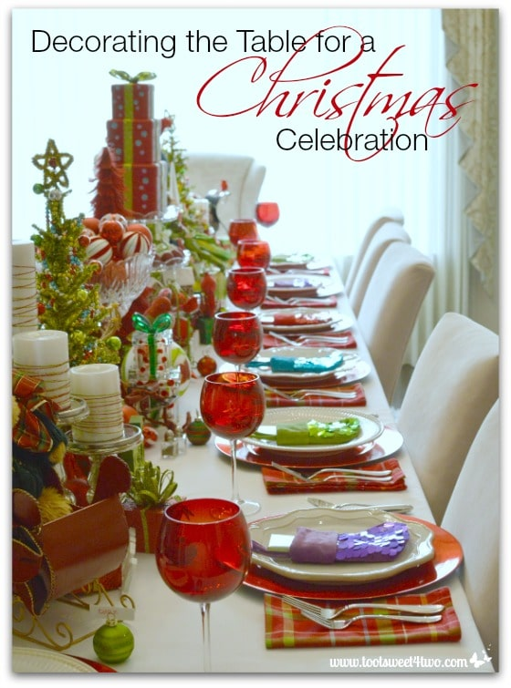 Tablescapes archives toot sweet 4 two for Christmas table cover ideas