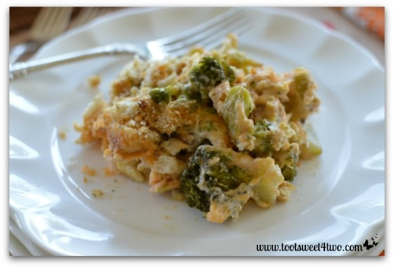 Easy Cheesy Broccoli Casserole Pic 1