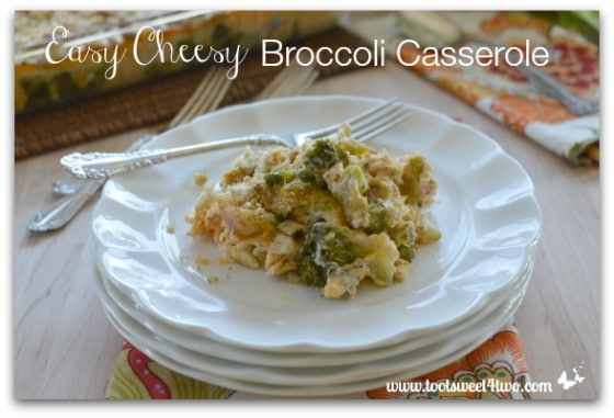 Easy Cheesy Broccoli Casserole Pic 2