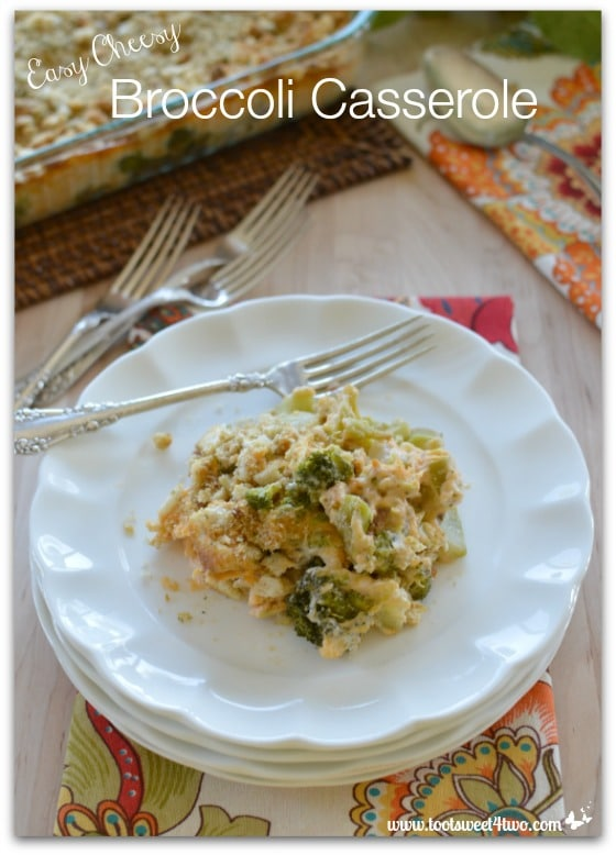 Easy Cheesy Broccoli Casserole cover