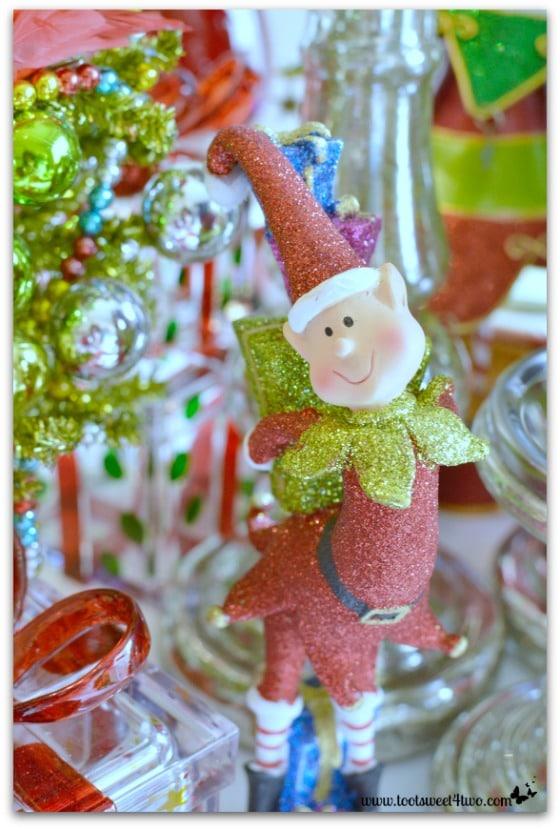 Elf on Christmas Table