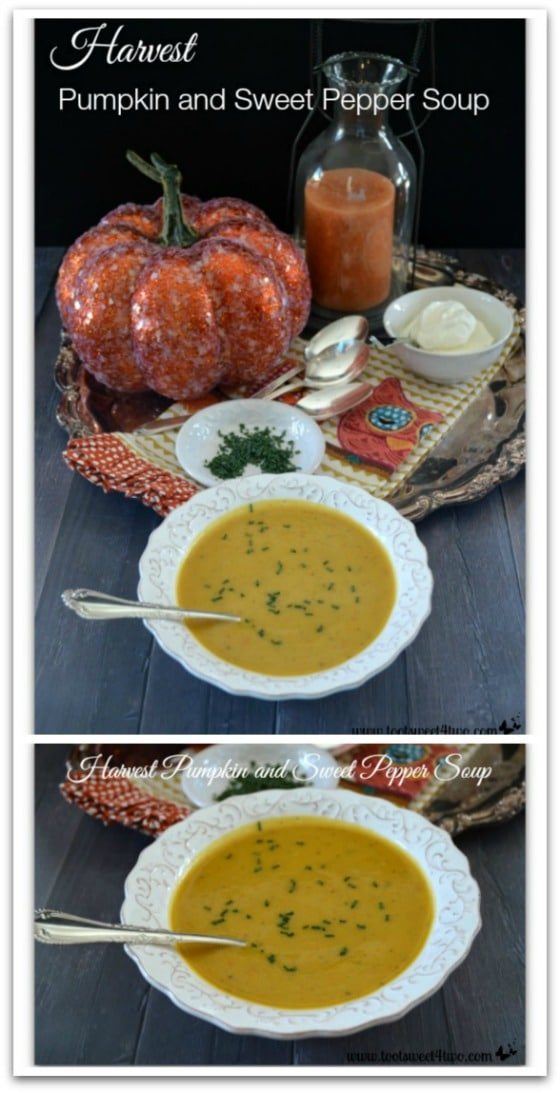 Harvest Pumpkin and Sweet Pepper Soup Pinterest