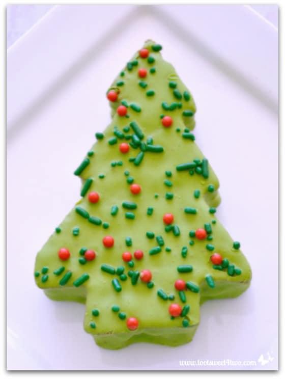 Little Debbie Red Velvet Christmas Tree Cake