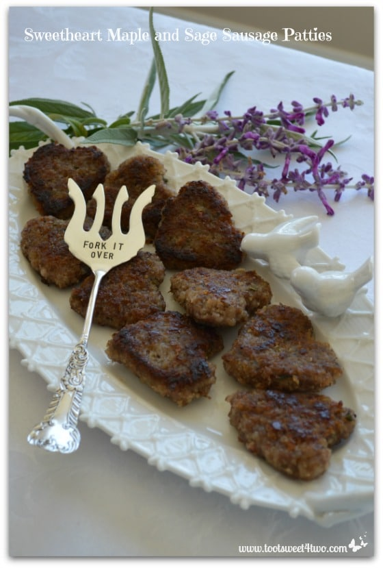 Pic 11 Sweetheart Maple and Sage Sausage Patties