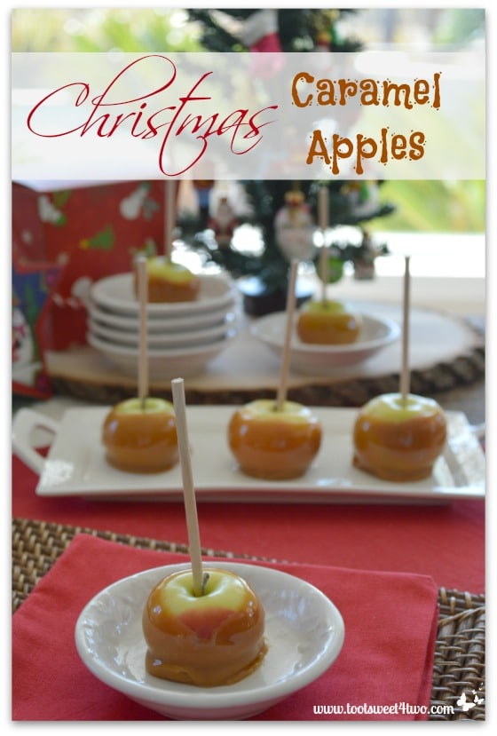 Pic 16 Christmas Caramel Apples