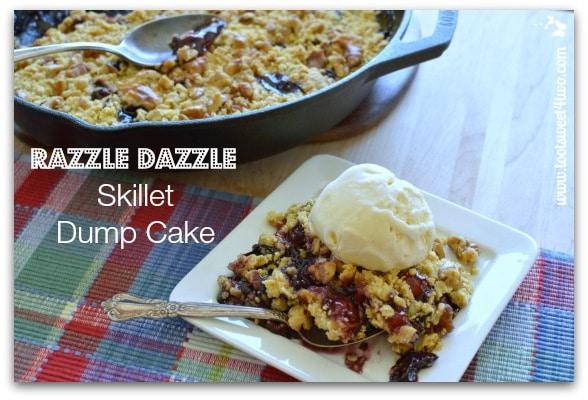 Razzle Dazzle Skillet Dump Cake Pic 2