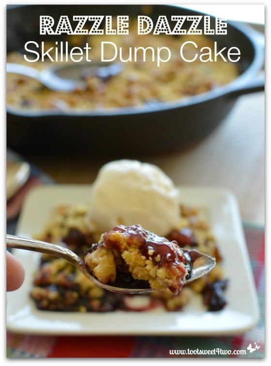 Razzle Dazzle Skillet Dump Cake Pic 5