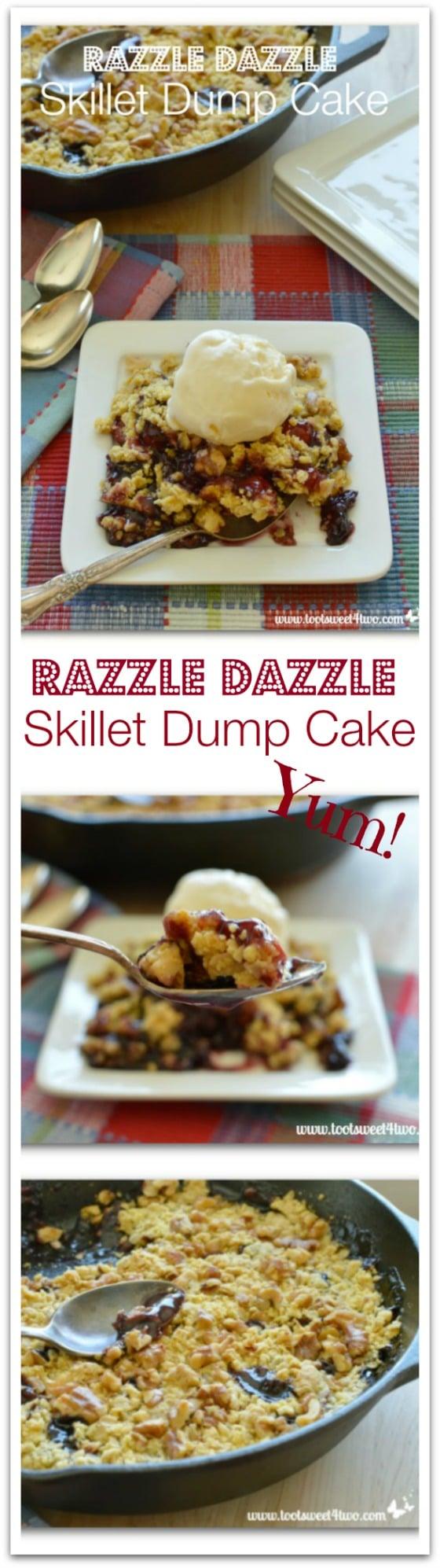 Razzle Dazzle Skillet Dump Cake Pinterest