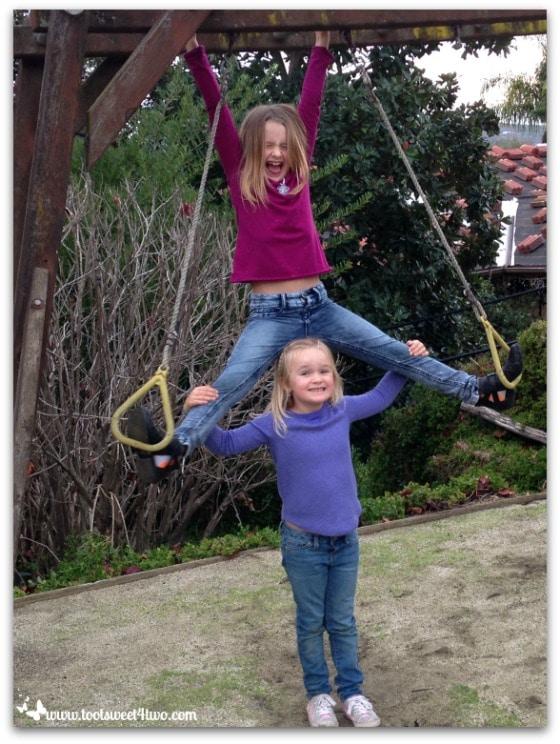 So This is Christmas Pic 3 - Princesses P playing