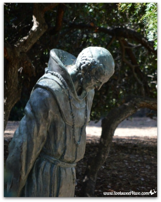 The Padre by Arthur Putnam in Presidio Park, San Diego