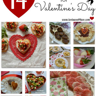 14 Recipes and Ideas for Valentine's Day