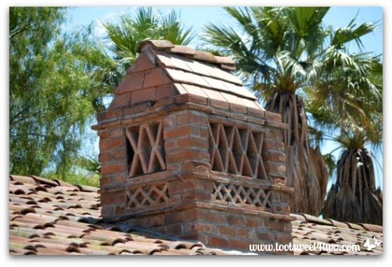 Chimney at Mission San Antonio de Pala